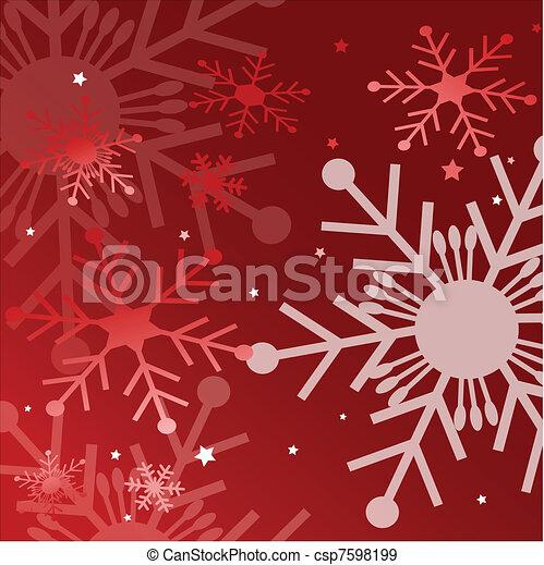 Tarjeta de Navidad - csp7598199