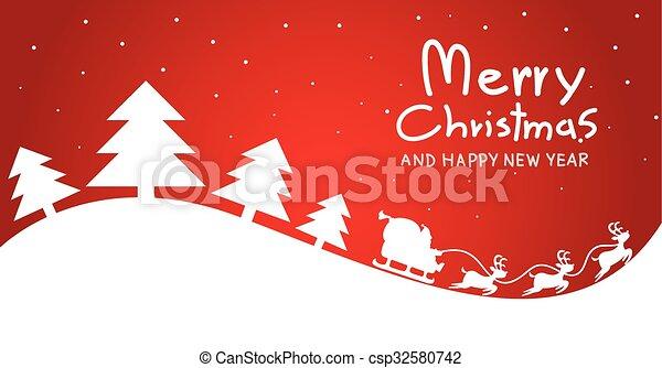 Tarjeta de Navidad - csp32580742