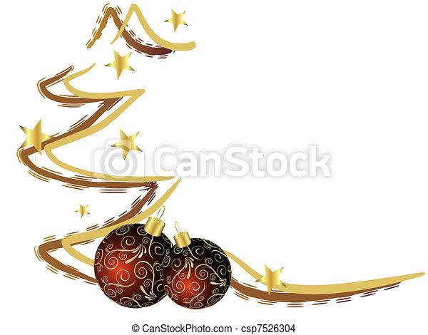tarjeta de navidad - csp7526304