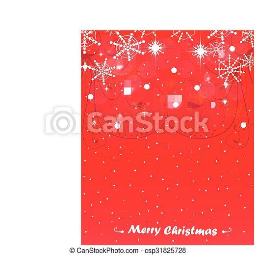 Tarjeta de Navidad - csp31825728