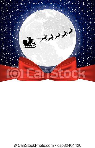 Tarjeta de Navidad - csp32404420
