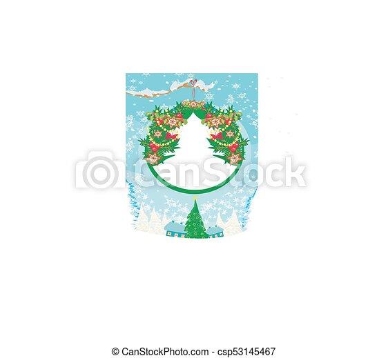 Tarjeta de Navidad - csp53145467