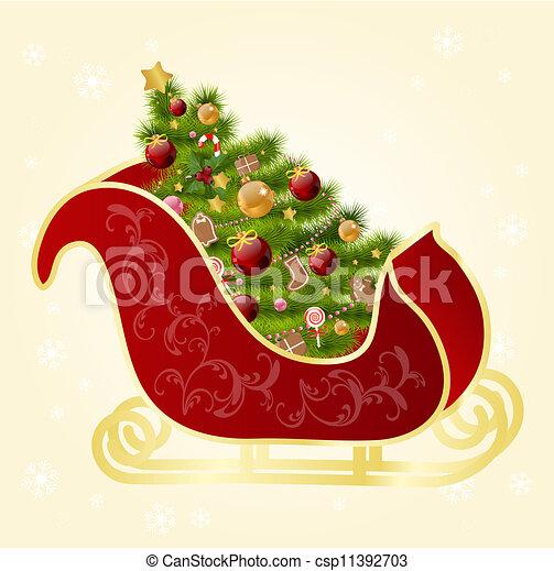 Tarjeta de Navidad - csp11392703