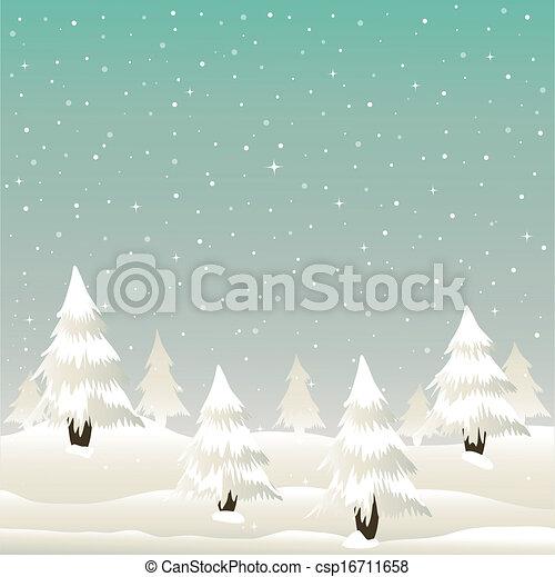 Tarjeta de Navidad - csp16711658