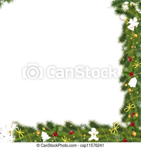 Tarjeta de Navidad - csp11576241