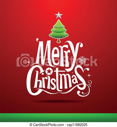 Tarjeta de Navidad - csp11682025