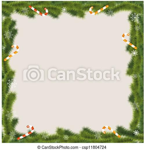Tarjeta de Navidad - csp11804724