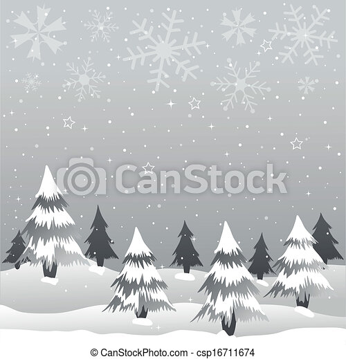 Tarjeta de Navidad - csp16711674