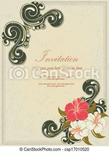 Tarjeta De Invitación De Reunión Familiar