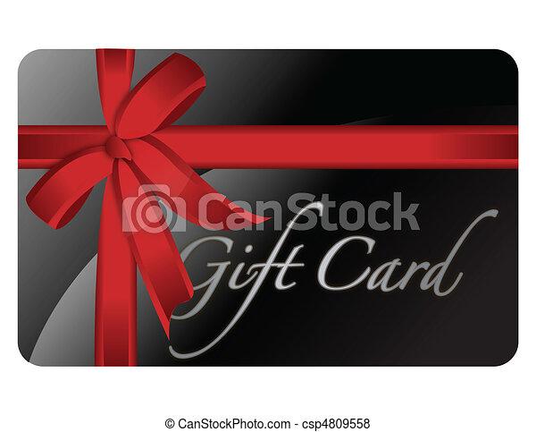 Tarjeta de regalo - csp4809558