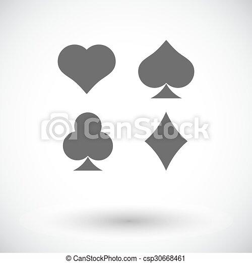 Traje de cartas - csp30668461