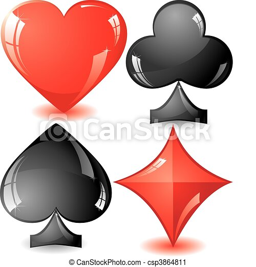 Traje de cartas - csp3864811