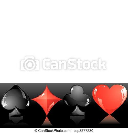 Traje de cartas - csp3877230
