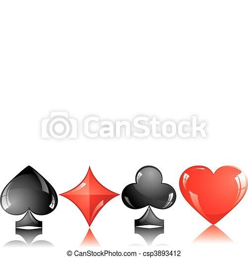 Traje de cartas - csp3893412