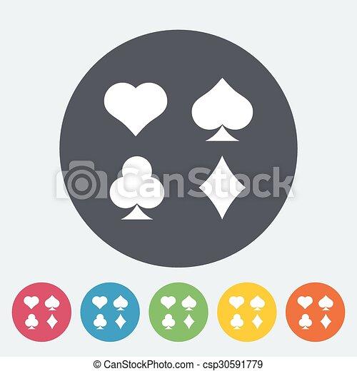 Traje de cartas - csp30591779