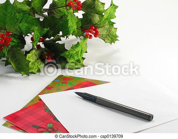 Tarjetas de Navidad - csp0139709