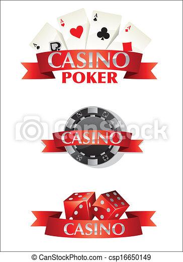 Tarjetas de juego de póquer - csp16650149