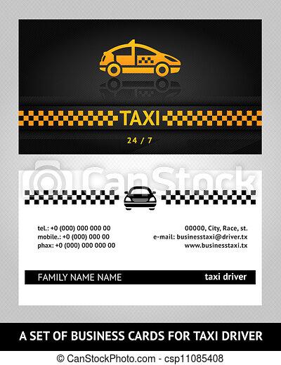 Tarjetas, taxi, empresa / negocio, taxi. Taxi, empresa / negocio ...