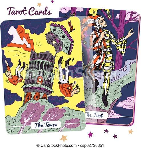 Tarot Card Deck - csp62736851