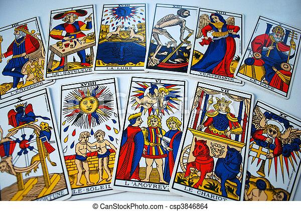 Tarot cards - csp3846864
