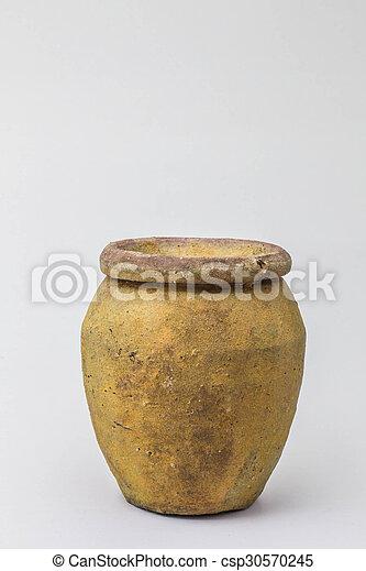 Viejas jarras de fondo - csp30570245