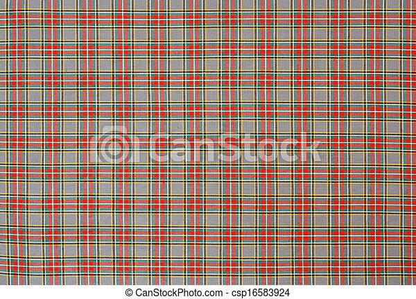 Patrón de comprobación escocesa - csp16583924