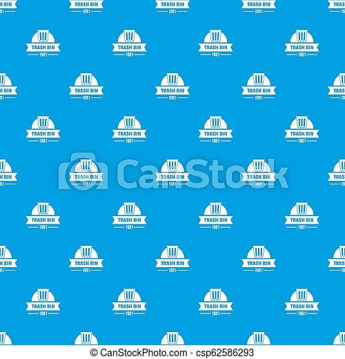 tartó, motívum, kék, seamless, műanyag - csp62586293