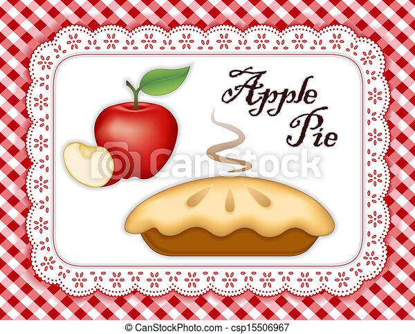 tarte aux pommes - csp15506967