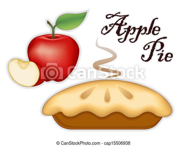 tarte aux pommes - csp15506938