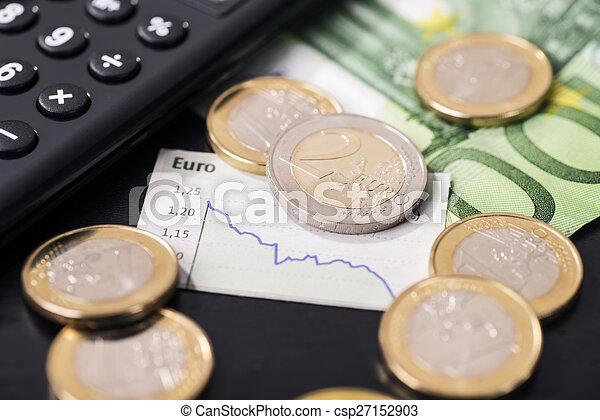 Baja tasa del euro - csp27152903