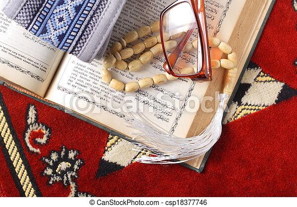 tasbih - moslem prayer beads - csp18377746
