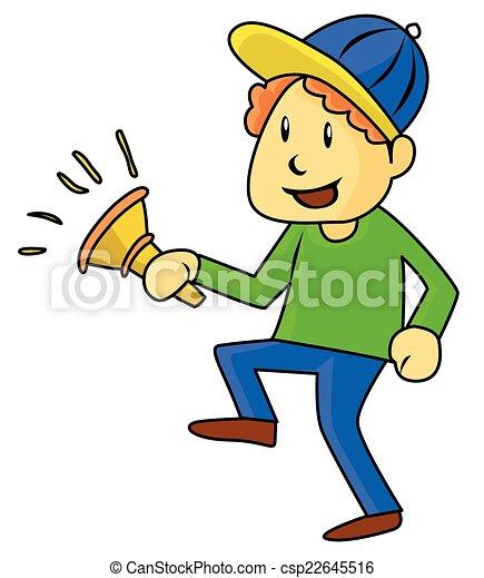 Taschenlampe clipart  Vektor Clipart von taschenlampe, junge - junge, taschenlampe ...