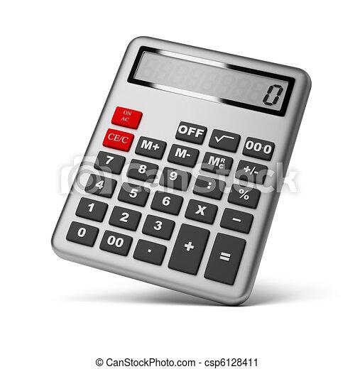 taschenrechner - csp6128411