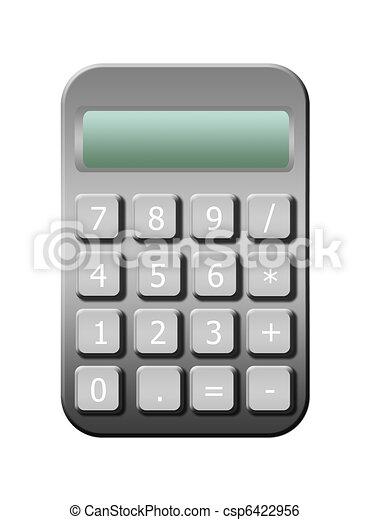 taschenrechner - csp6422956