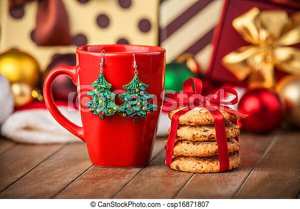 tasse caf biscuits dons fond no l. Black Bedroom Furniture Sets. Home Design Ideas