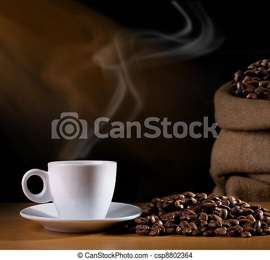 tasse à café - csp8802364
