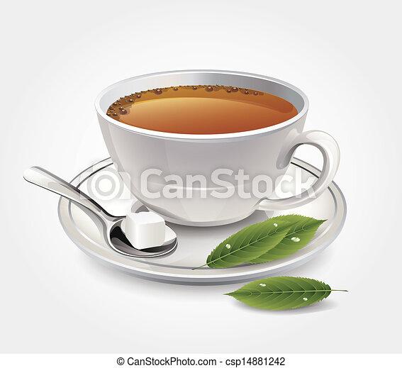 tasse thé - csp14881242