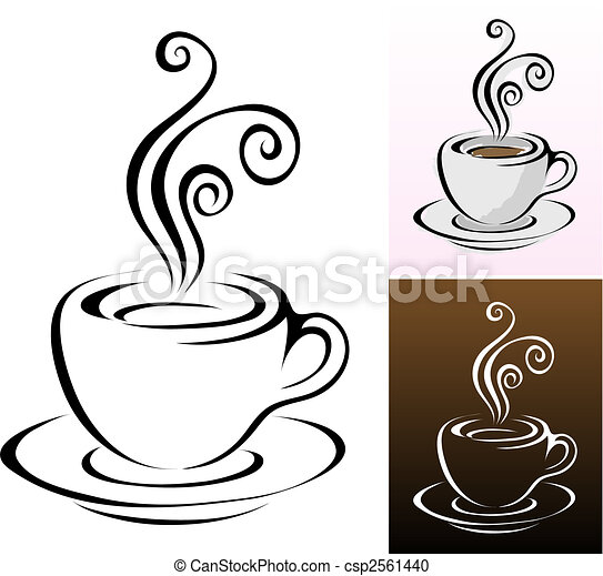 tasses café - csp2561440