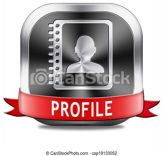 Profil-Taste - csp19133052