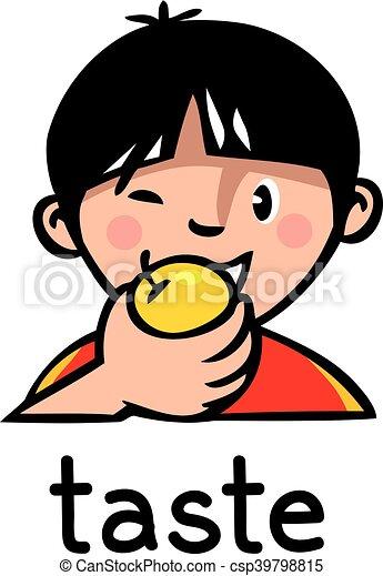 taste sense icon icons of one of five senses taste Nose Outline Clip Art Eye Clip Art Black and White