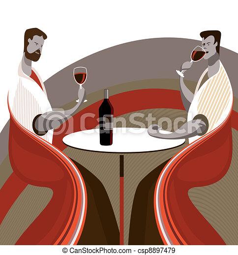 Taste wine - csp8897479