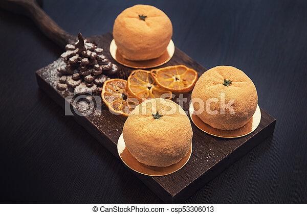 Tasty dessert for xmas - csp53306013