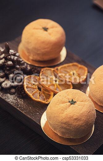 Tasty dessert for xmas - csp53331033
