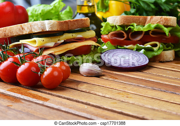 tasty sandwich - csp17701388