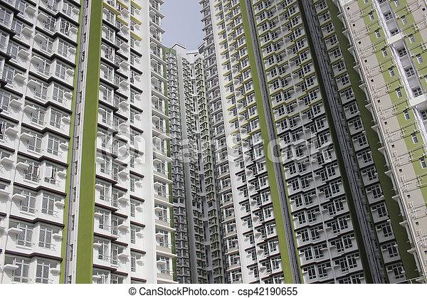 tat, 家, 公衆, 財産, hk - csp42190655