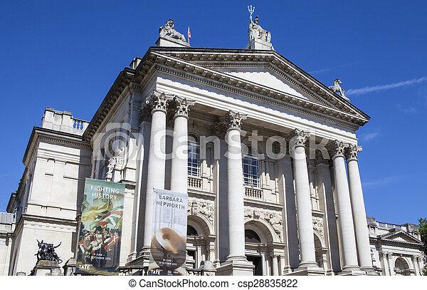 Tate Britain in London - csp28835822