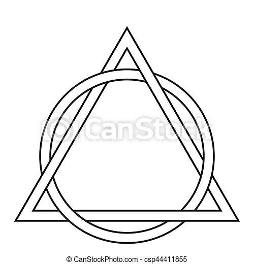 tatouage cercle triangle tissage tatouage triangle clipart vectoriel rechercher. Black Bedroom Furniture Sets. Home Design Ideas