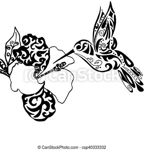 tatouage coloration hiqh qualiti isol orchid e ou vecteurs search clip art. Black Bedroom Furniture Sets. Home Design Ideas