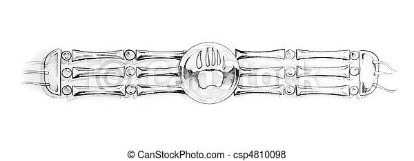 foto de Tatouage croquis indien bracelet art images