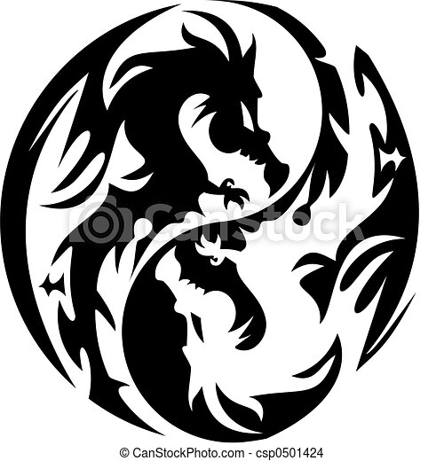 Dessin Dragon Tatouage tatouage, conception, dragon.